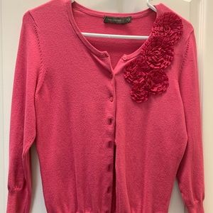 Pink The Limited cardigan